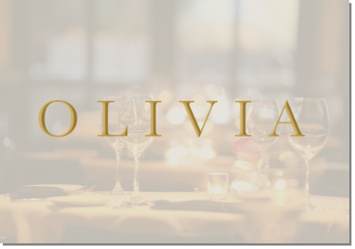 OLIVIA Tampa Restaurant Gift Card